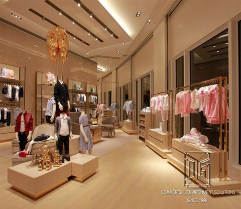 Luxury kids store interior design kids clothing display dg for Mobel luxus designer