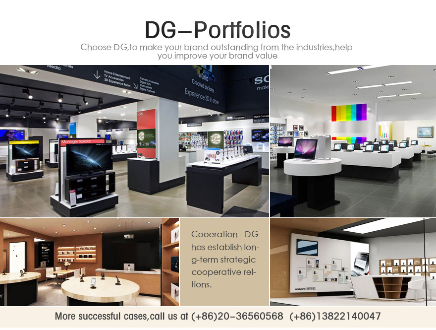 Mobile phone shop display furniture from dg furniture design for Mobile furniture design