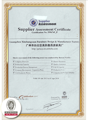 Alibaba Supplier Accessment