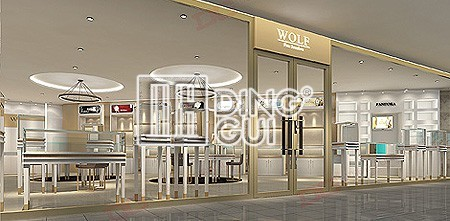 American High End Jewellery Shop Design