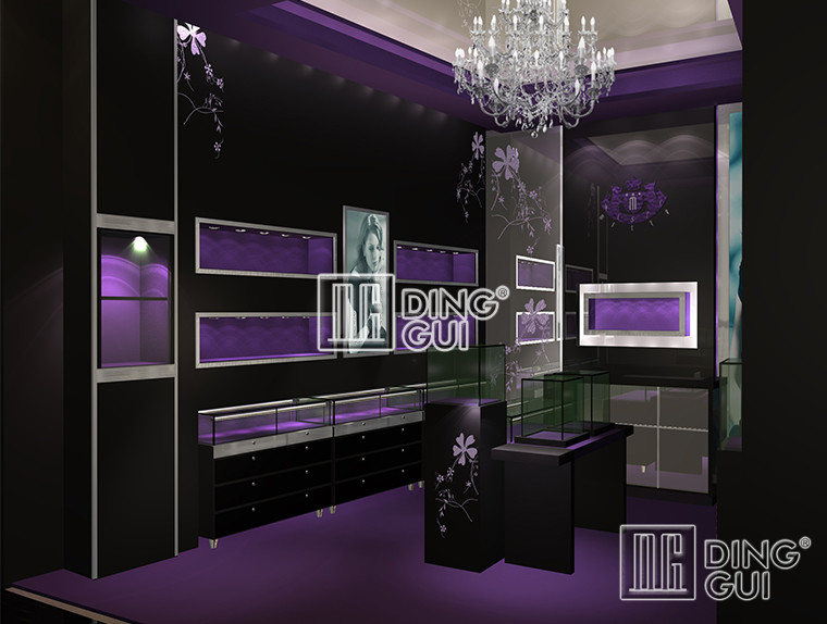 Why choose jewelry display showcase booth wholesale manufacturer