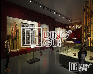 Dinggui Antiques Showcase Manufacturers Strength Certification 丨 Help 9800 ㎡ Museum Project