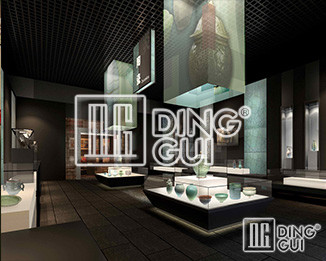 Dinggui Museum Display Showcase Factory Invites You To Create The Most Powerful National Brand