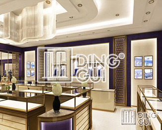 How Does Dinggui Jewelry Display Cabinet Company Help Customers Increase Sales?
