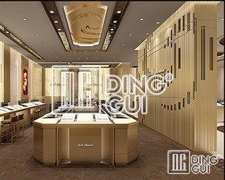 Dinggui Jewelry Showcase Factory Teaches You How To Design The Exhibition Hall!