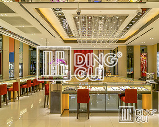 Dinggui Showcase And Icelandic Well-known Jewelry Brand Group Online Direct Transactions!