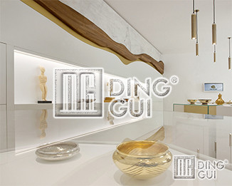 Dinggui Undertakes The Luxembourg City Museum Showcase Manufacturing Project