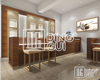 How Do Dinggui Showcase Masters Make Jewelry Showcase Design?