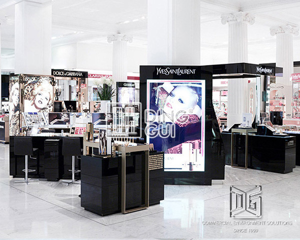 Cosmetic Exhibition Stand Design : Cosmetic display cases dinnggui furniture manufacture free