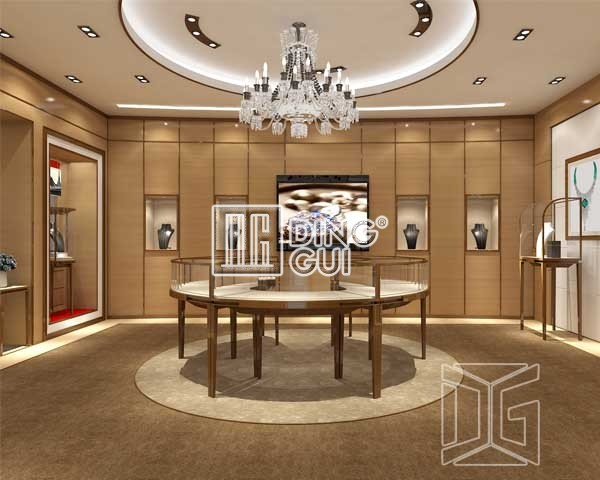 Trade Jewellery Stands : Jewelry showcases dinggui furniture factory free design
