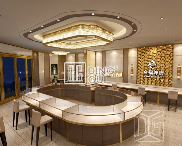 All Kinds Of Jewelry Diplay Cabinet Dinggui Furniture