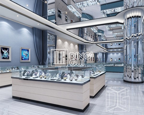 Popular Items For Jewelry Showcases Jewelry StandsDG Funiture Custom Jewelry Store Interior Design Plans