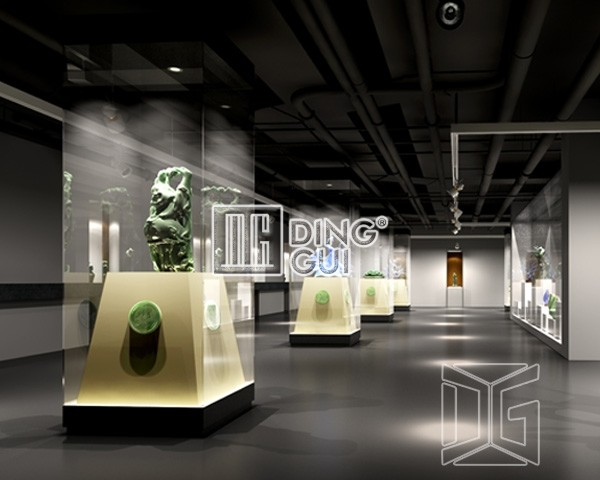 Plastic Display Stands For Museum Guangzhou Dinggui