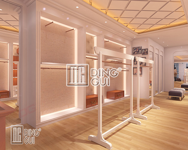 High Quality Luxury Simple Modern Decoration Retail Clothing Store Furniture