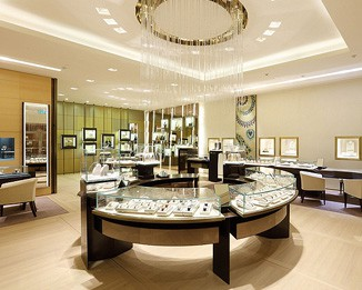 JE162 Round High End Jewelry Display Cases