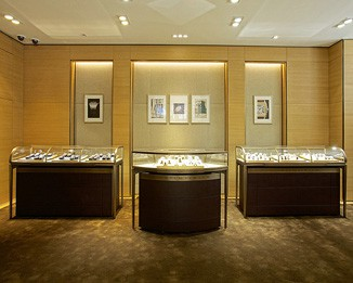 JE161 Luxury Brand Jewelry Display Cabinets