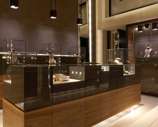 JE159 High End Vintage Jewelry Display Cases