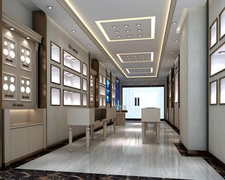 JE156 Premium Jewelry Showroom Design