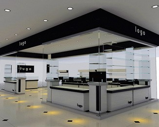 JE141 Custom High End Jewelry Shop Design