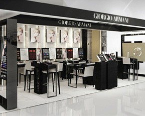 CM108 Luxury Shopping Mall Cosmetic Store Displays