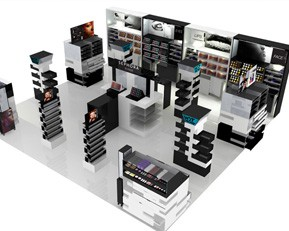 CM99 Luxury Cosmetic Display Stands