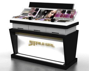 CM93 Fashion Luxury Cosmetic Display Cabinet