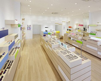 OP78 Luxury Optical Shop Interior Design