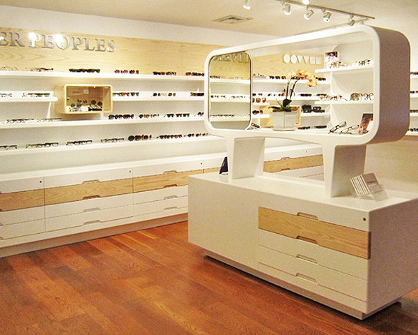 OP58 Optical Shop Interior