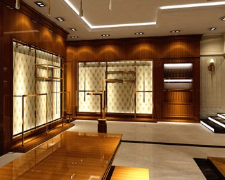 CL65 Luxury Clothing Store Display Design