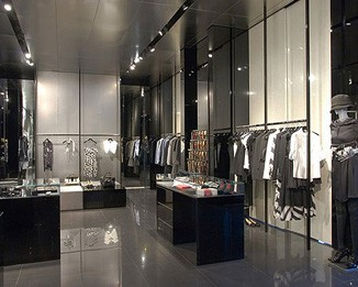 CL50 Clothing Display Racks And Cabinets