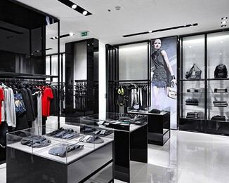 CL44 Luxury Clothing Store Display Units