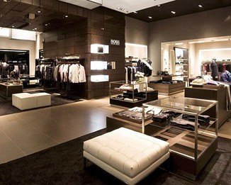 CL33 High End Men's Clothes Store Displays