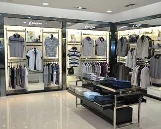 CL20 High End Clothing Store Display Racks
