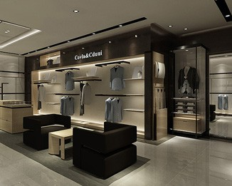CL16 High End Luxury Clothing Store Furniture