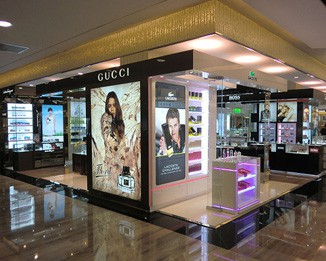 PE25 Perfume Kiosk Designs In Mall