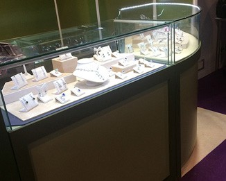 JE122 High End Jewelry Counter Display