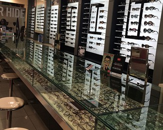 OP56 High End Eyewear Shop Cabinet
