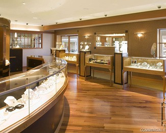 JE93 High End Jewelry Showroom Design