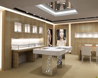 JE84 Commercial Jewelry Shop Fixtures Design
