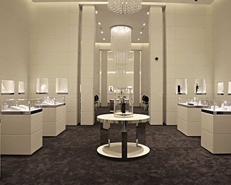 JE69 Luxury Jewelry Showroom Display