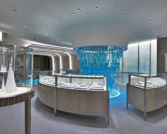 JE67 Premium Tiffany Jewelry Shop Design