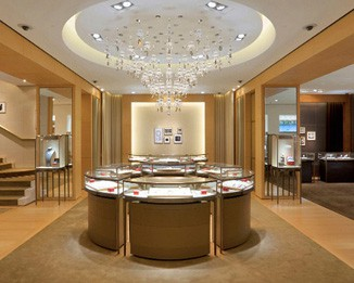JE66 Luxury Jewelry Shop Counter Design