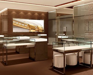 JE57 High End Jewelry Shop Display Counter
