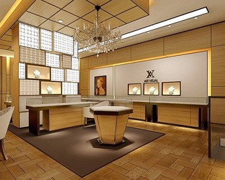 JE49 Luxury Jewelry Shop Design