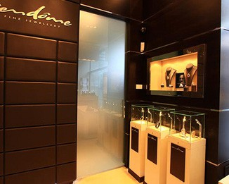 JE46 Innovative Jewelry Shop Counter And Showcase