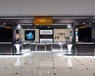JE33 Shopping Mall Jewelry Shop Design