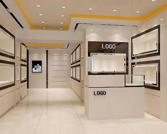 WA43 Custom High End Watch Store Design