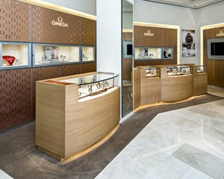 WA37 Brand Watch Store Display Design