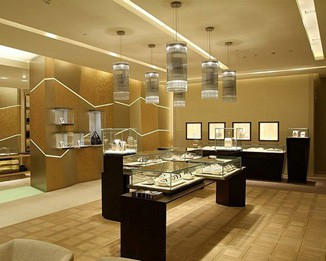WA33 Luxury Watches Shop Furniture Design