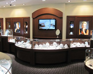 WA23 High End Merchandising Watch Shop Counters